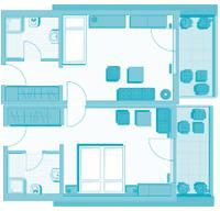 3-Bett-Familienzimmer