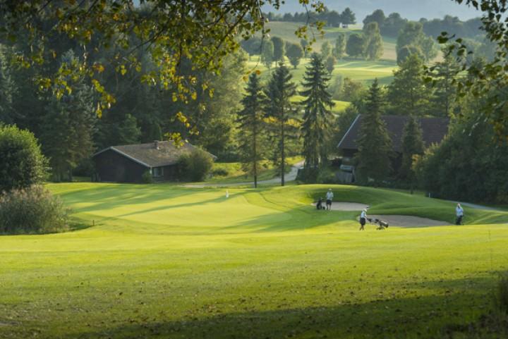 Golf Total im Herbst