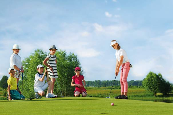 Familien-Golf-Special