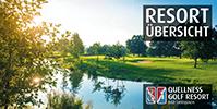 Quellness & Golf Resort Flyer - Alle Infos kurz zusammengefasst